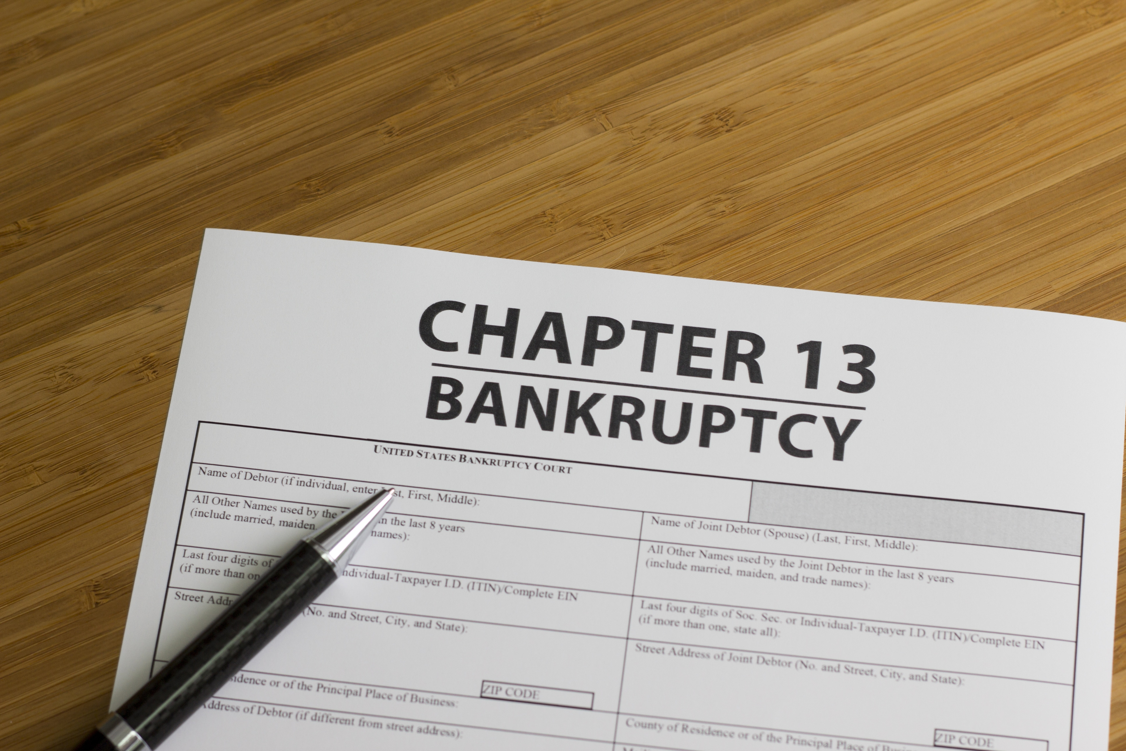 bankruptcy chapter 13 questions and answers